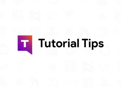 Logo Design - Tutorial Tips identity brand logo