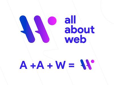 All About Web - Logo logo design
