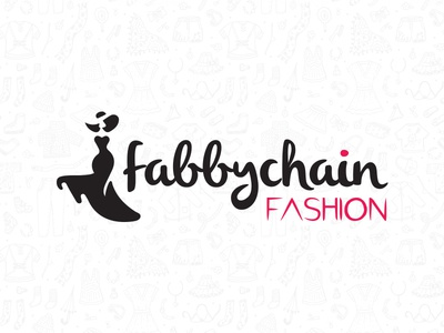 Fabi Chain Fashion branding illustration logo design