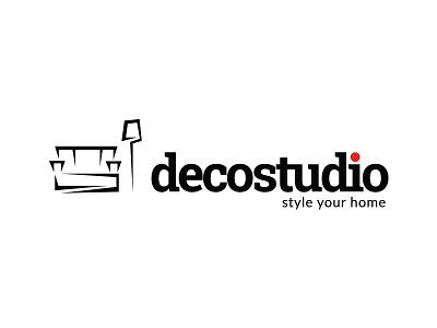 Decostudio - Style your home branding illustration logo design