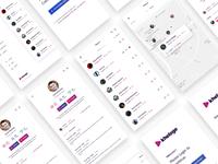 Kheloge - Mobile App Design