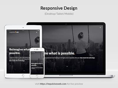 Responsive Design website web design responsive