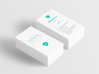 T.E.L. business card