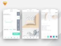 S T I T C H app design concept