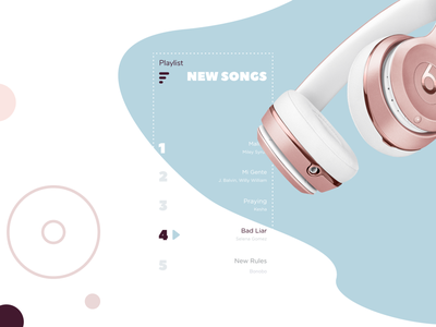 FIDO. Music player best ui design ui designer ui ux interaction design user experience user interface audio ios minimalistic app music player