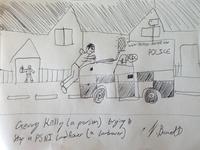 PSNI Landrover (w/ Gerry Kelly)