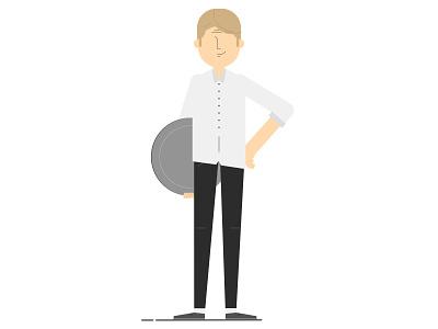 Restaurant Owner graphics motion design flat customers illustration man video owner restaurant character