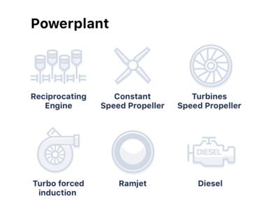 Powerplant Icons