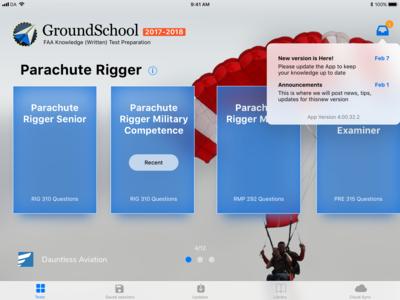 GroundSchool app