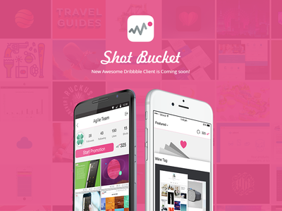 Promoshot app design concept dribbble ui ux sketch mobile ios iphone interface flat clean simple art animation android