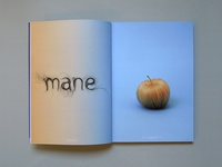 Hair Typography Art magazine 'Bite Me' hand lettering lettering design 3d typography letter editorial typo font hand made typography