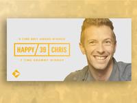 Happy Birthday Chris Martin