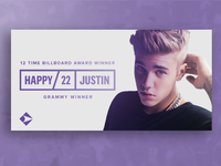 Happy Birthday to the Biebs