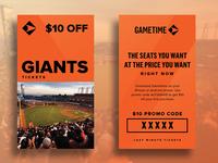 Giants Credit Redeemer Card