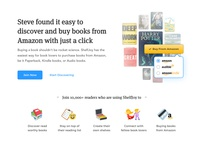 ShelfJoy's landing page based on JTBD framework - Part 4 4️⃣ 📚