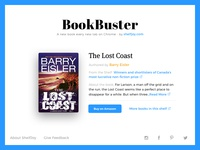 BookBuster - A new book every new tab in Chrome by ShelfJoy