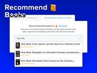 Recommending Books to Friends - Interface for ShelfJoy