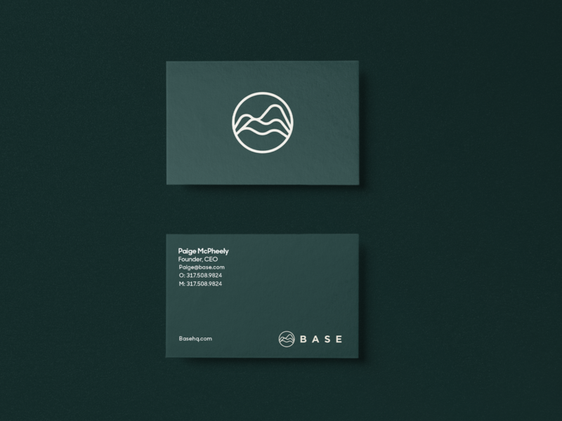 Base Business Cards logo branding