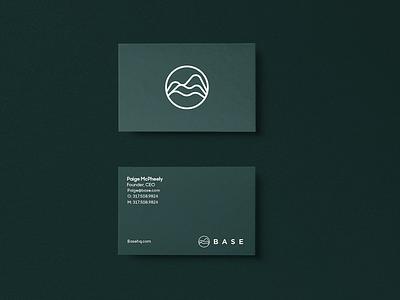 Base Business Cards logo branding
