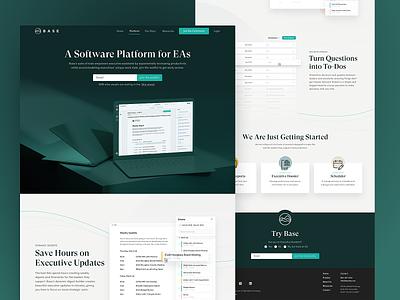 Base Website branding web ui