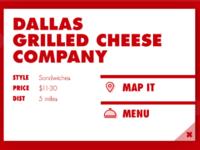 Restaurant Info Card