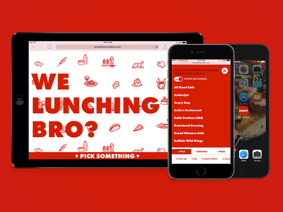 """We Lunching Bro?"" is live!"