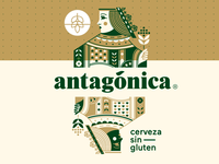 Antagonica Beer Label