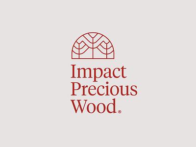 IPW tree architect design door wood workshop carpentry logo architecture interior design interior