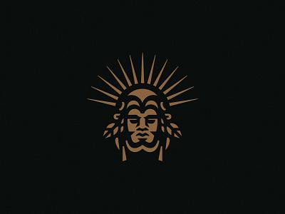 Mexiqueno earth tribal native mayan drink icon design simple logo eagle warrior mexico aztek icon tequila