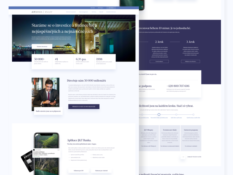 Private bank redesign concept finance business redesign concept ux design