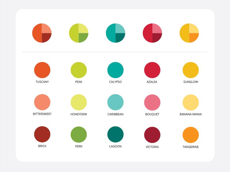 Color for Data Visualization data visualization information design theory product design color palette palette color