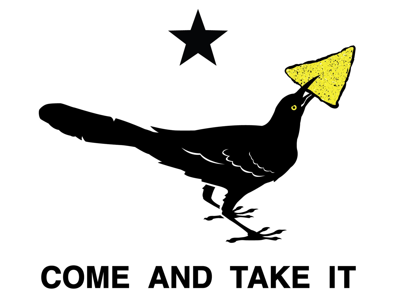 Grackle Come And Take It By Kyle Mitchell On Dribbble