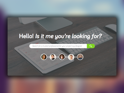 Excelerate: Search-based Landing Page ux ui design web design search landing page trust professional project