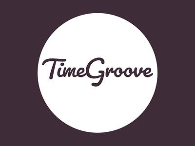 Logo Design: TimeGroove - Alt. Colours typography logo flat identity branding app design