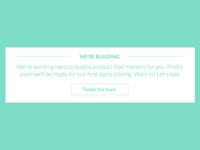 Landing Page Information Module