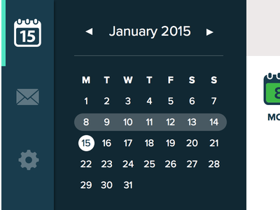 TimeGroove Dashboard Shot ui ux app design user interface controls settings messages calendar dashboard