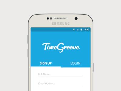 TimeGroove Mobile Mockup