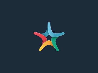 Star Boomerang logo rate logo boomerang star
