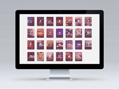 Music Genre Thumbnails  icons thumbnails music