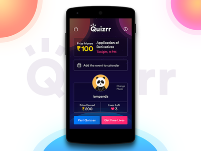 Quizrr - Live Educational Quiz App