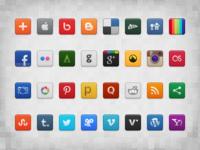 Social Icon Set (Freebie)