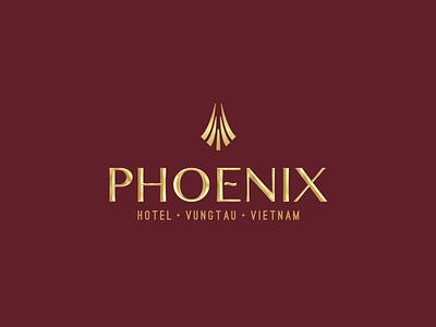 Phoenix Hotel Vung Tau hotel vietnam identity logo classic phoenix