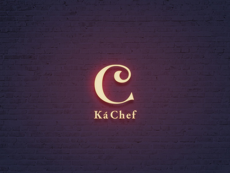 Ká Chef Restaurant ccv design boutique branding logo restaurant