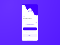 Daily UI #001 - Sign up