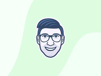 Self-Portrait illustration vector