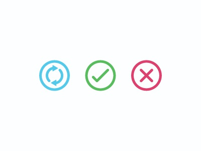 Refresh Yes No checkmark icon icons ui refresh yes ok check no stop cancel