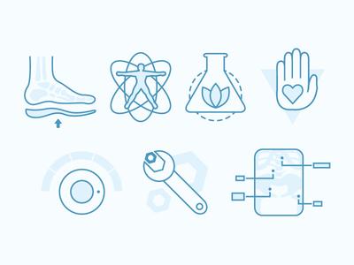 Chiropractic Icons
