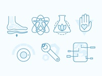 Chiropractic Icons