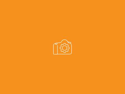 Camera Settings icon camera canon settings cog
