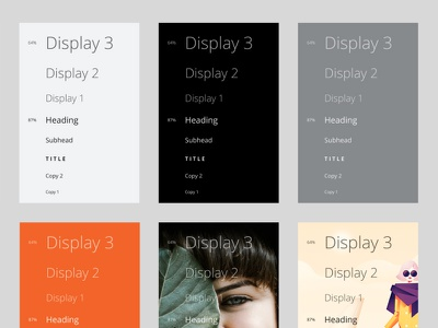 Type Guide in Figma type type set design web typography